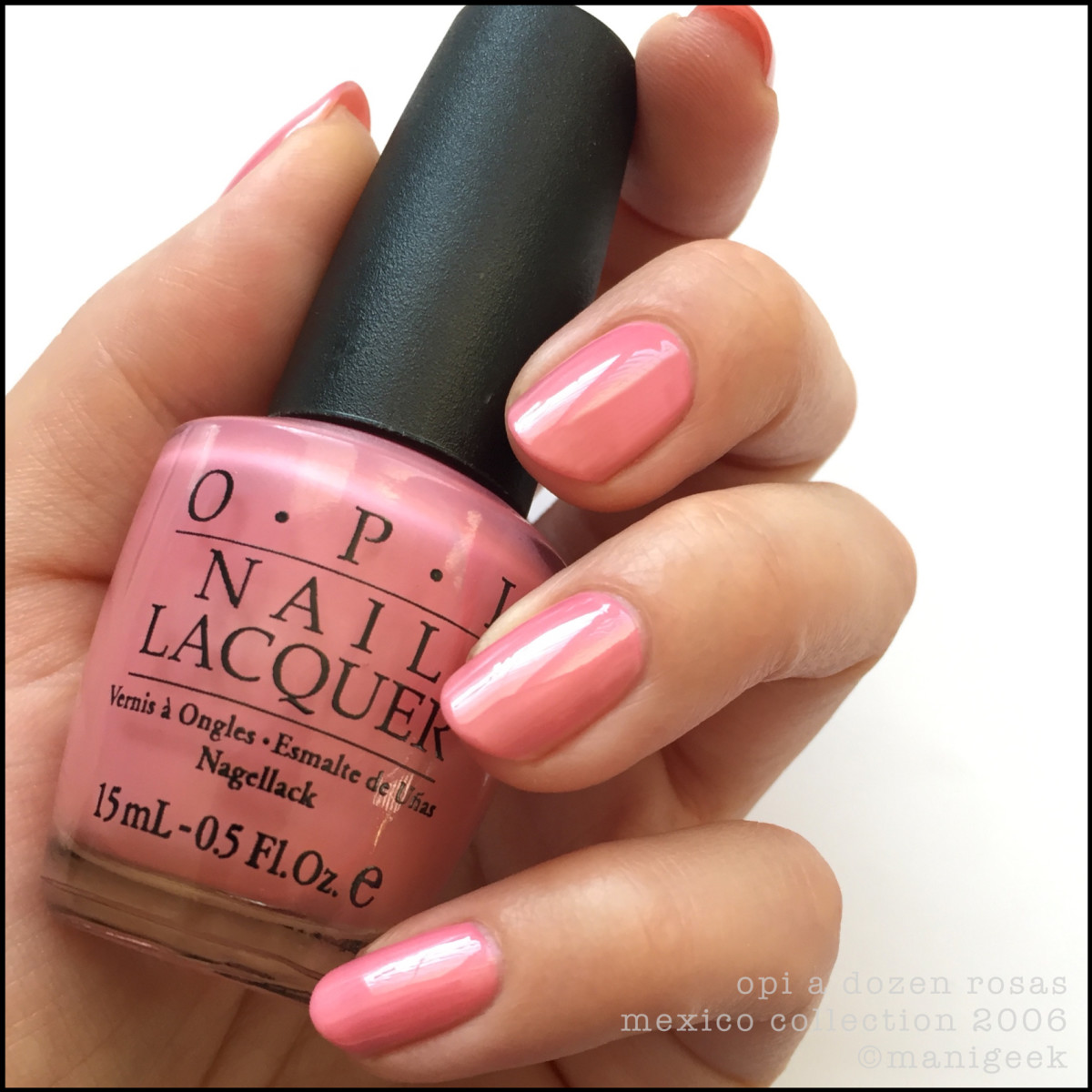 OPI A Dozen Rosas_OPI Mexico Collection 2006 BLOPI