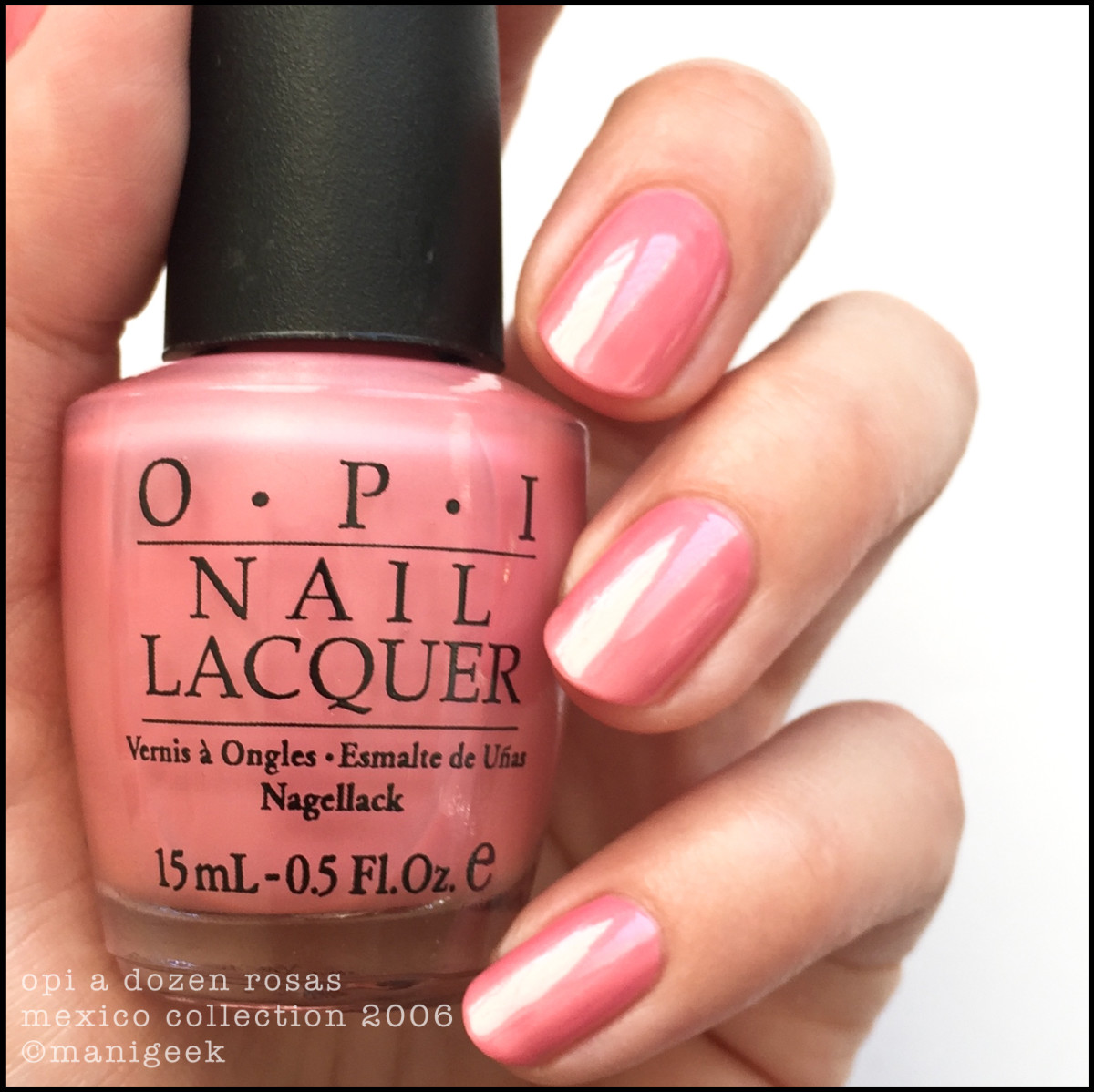 OPI A Dozen Rosas BLOPI_OPI Mexico Collection 2006