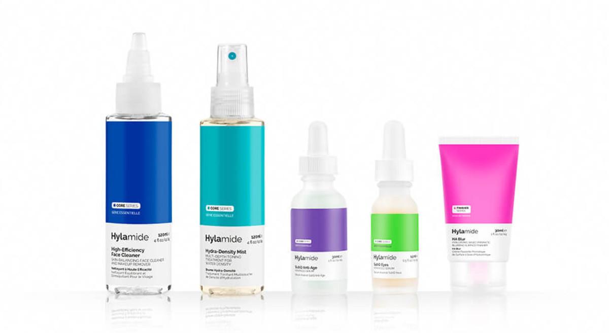 Deciem Hylamide Set: cleanser, face mist, anti-aging face and eye serums, blur balm($49/value $131)