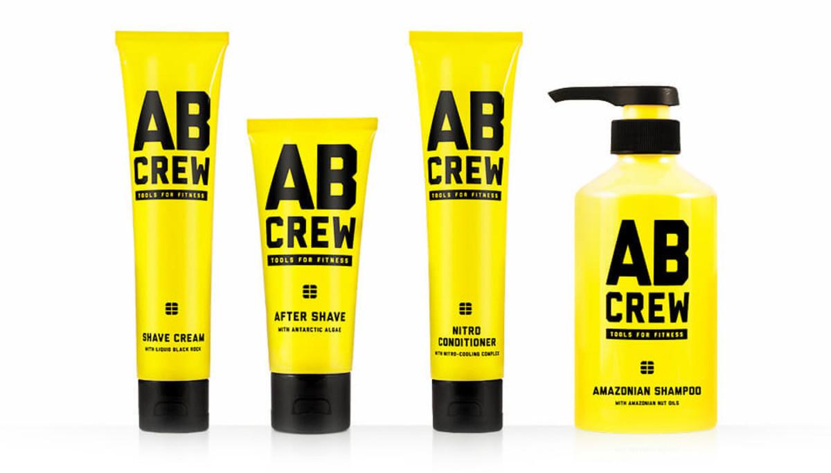 Deciem AB Crew shave cream, after shave, conditioner, shampoo set $29 (value $84)