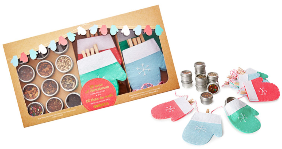 Inspired by Pinterest? The David's Tea 12 Teas of Christmas gift set.