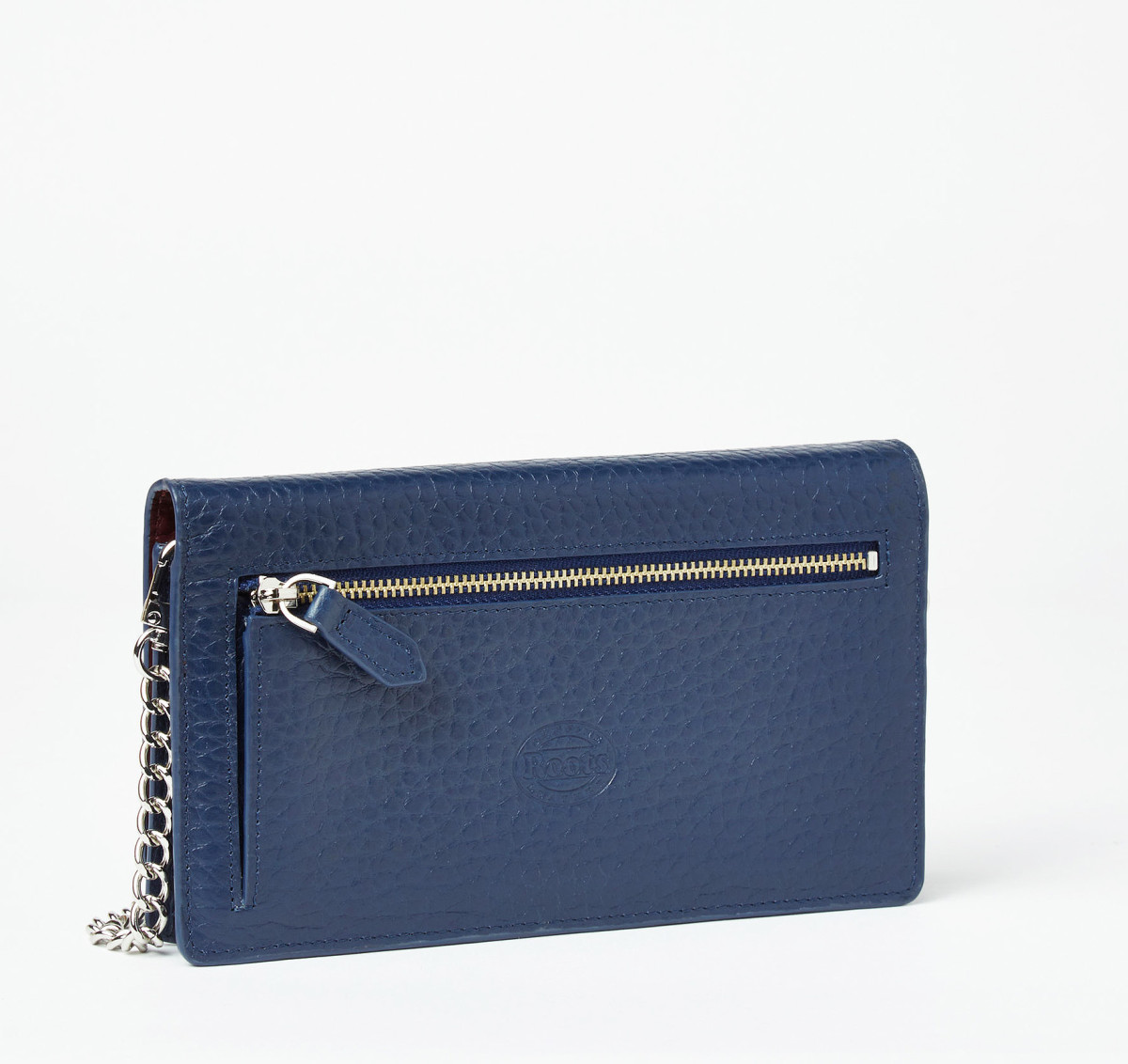 Roots Evening Wallet back zippered pocket