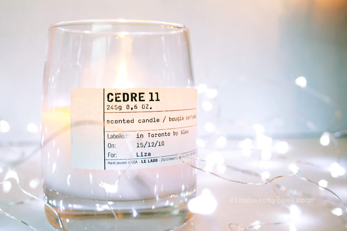 Best seasonal candles: Le Labo Cedre 11 candle
