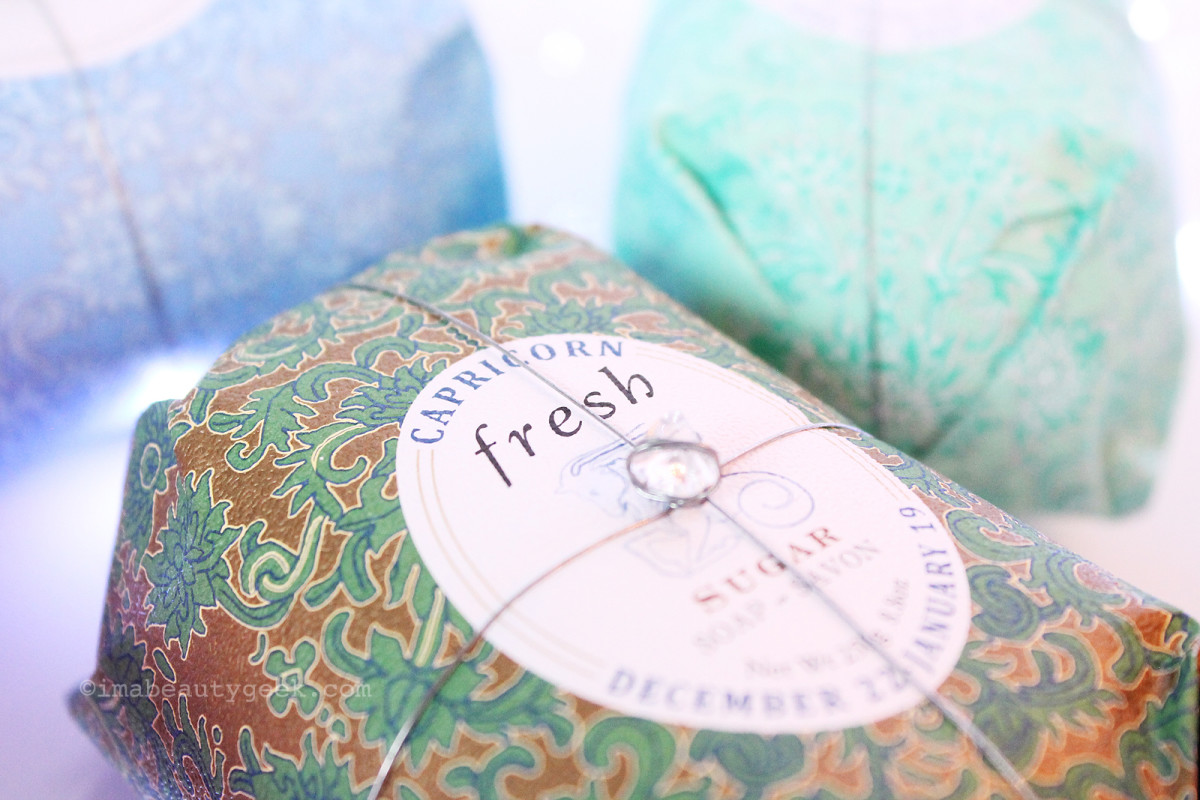 Fresh Zodiac Soap 2016/17 Capricorn (Sugar scent)