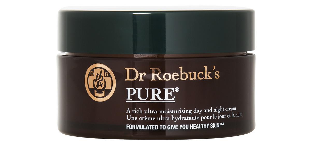 Dr. Roebuck's Pure facial moisturizer