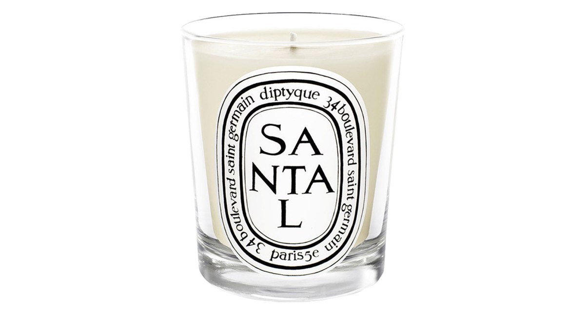Hygge it Out: Diptyque Santal scented candle