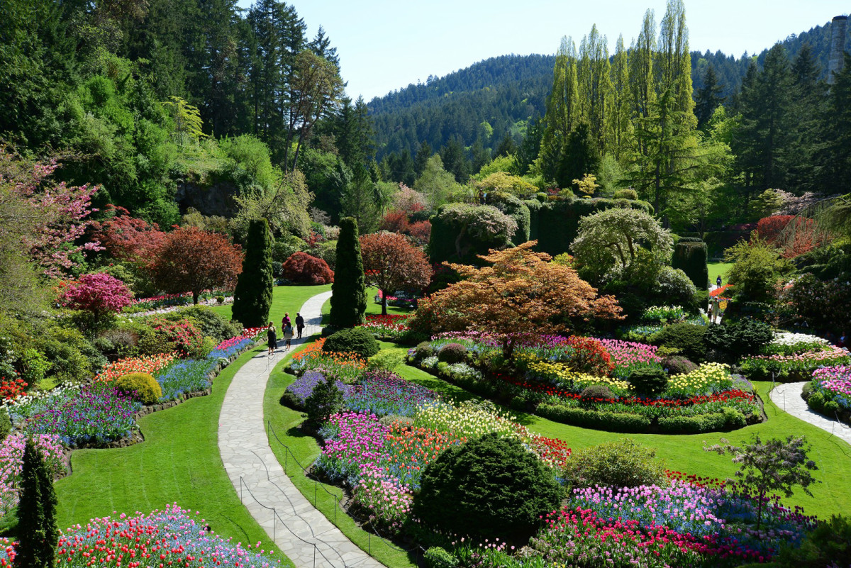 Do you travel for new year 39 s eve beautygeeks - Best time to visit butchart gardens ...