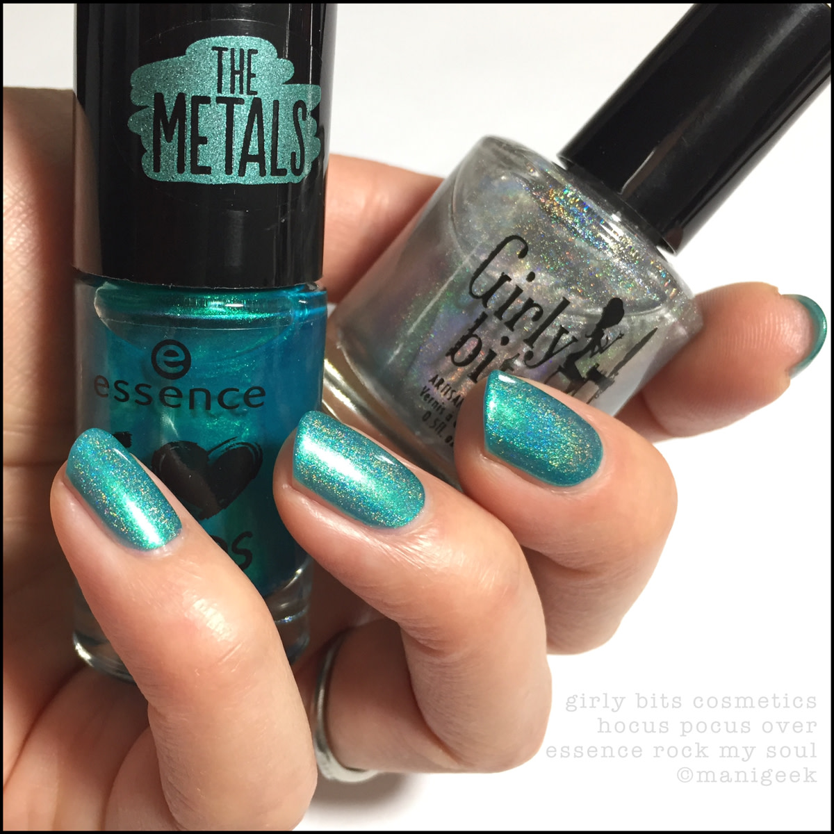 Girly Bits Hocus Pocus over Essence Rock My Soul - Essence The Metals 2016 I Love Trends Collection