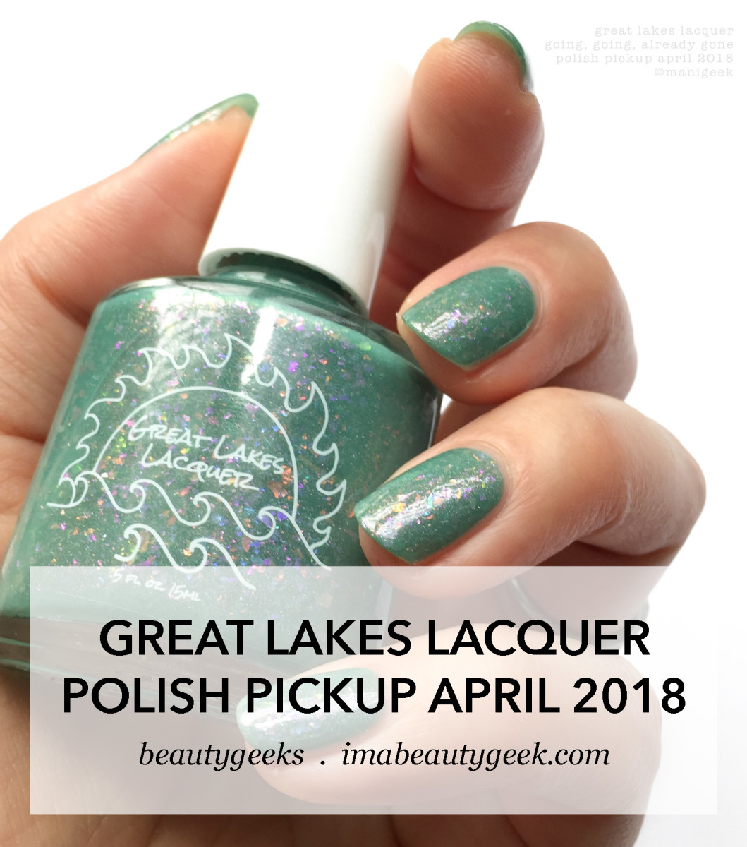Great Lakes Lacquer Going Going Already Gone _ Polish Pickup April 2018 Space Theme