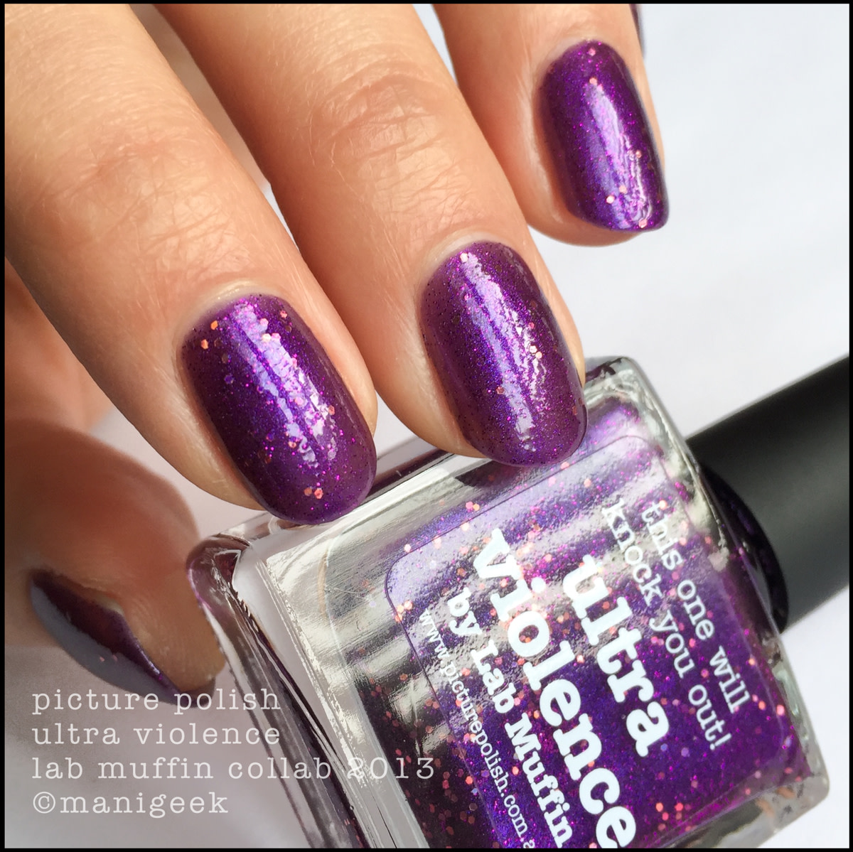 Picture Polish Ultra Violence by Lab Muffin NOTD