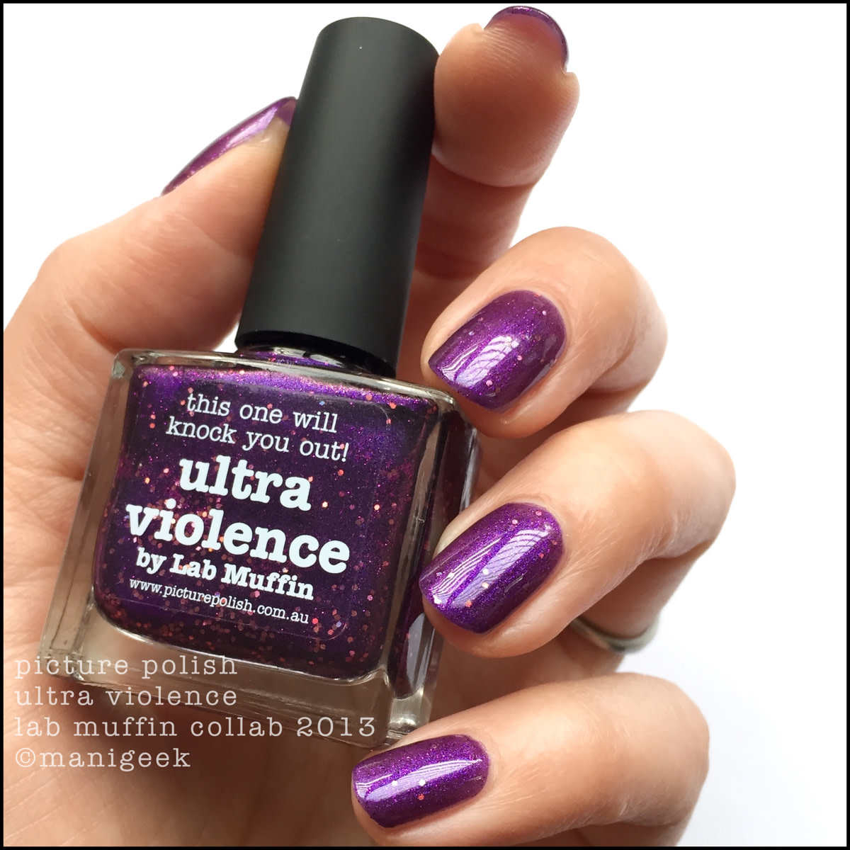 Picture Polish Ultra Violence Lab Muffin 2013 Collab NOTD