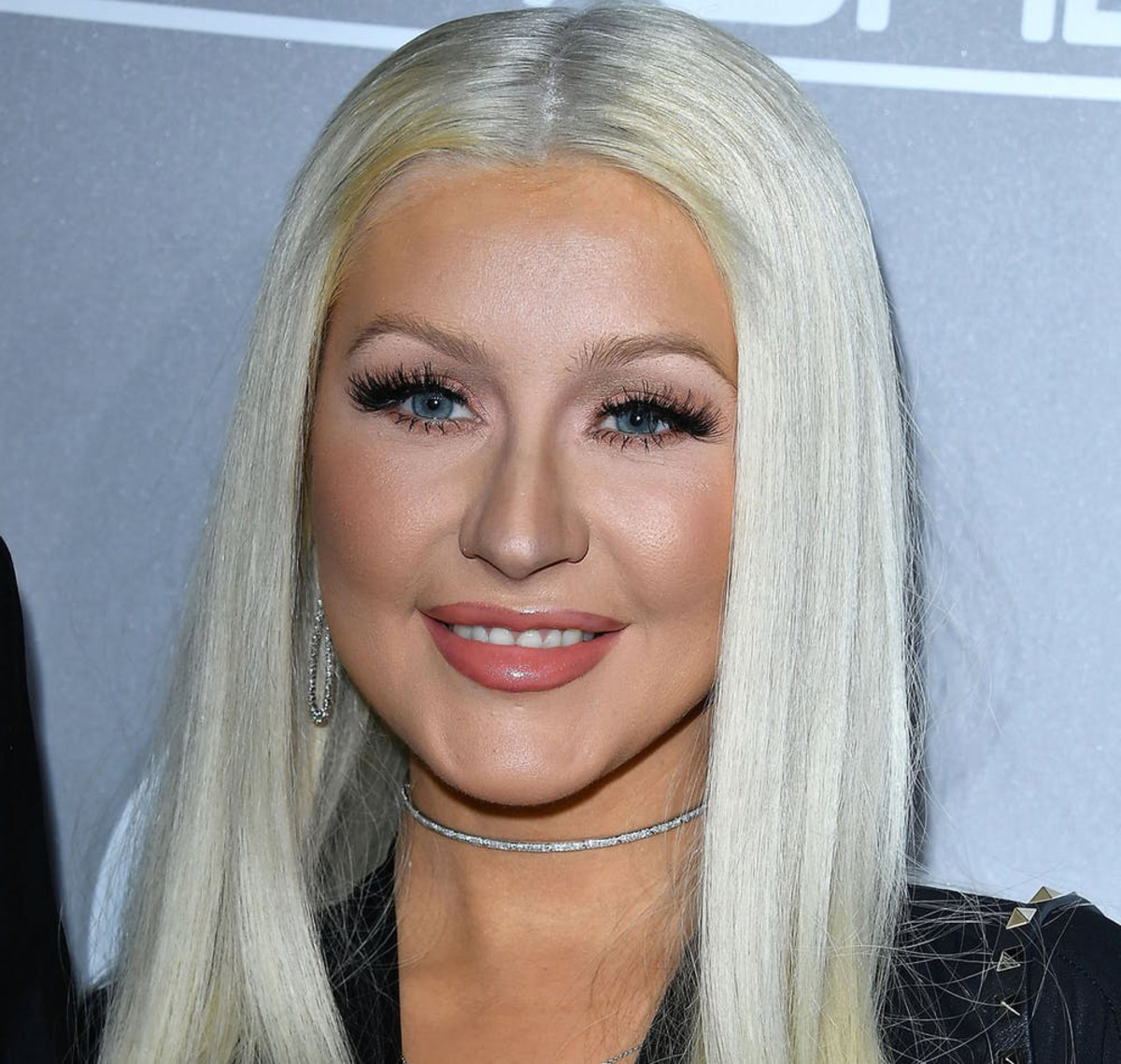 Christina Aguilera in late 2016