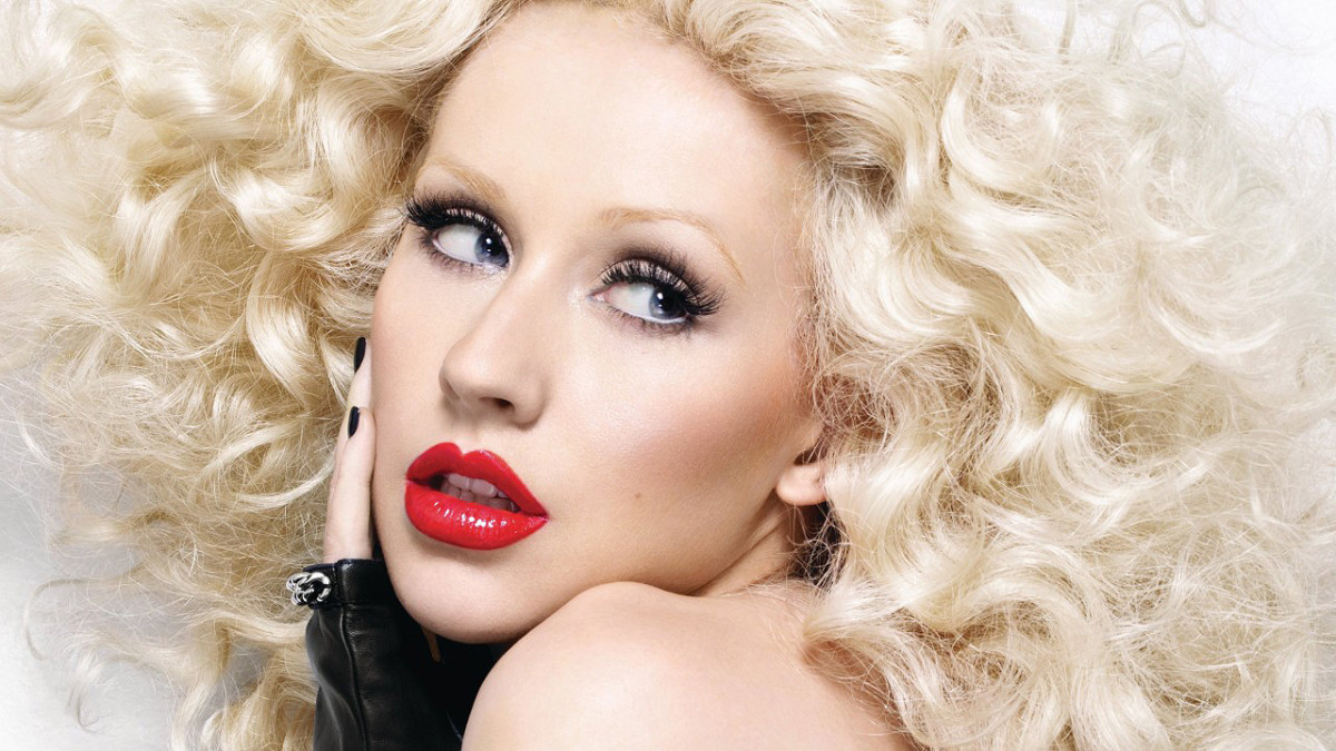 "Christina Aguilera circa 2009 or 2010, when she released her album ""Bionic"""