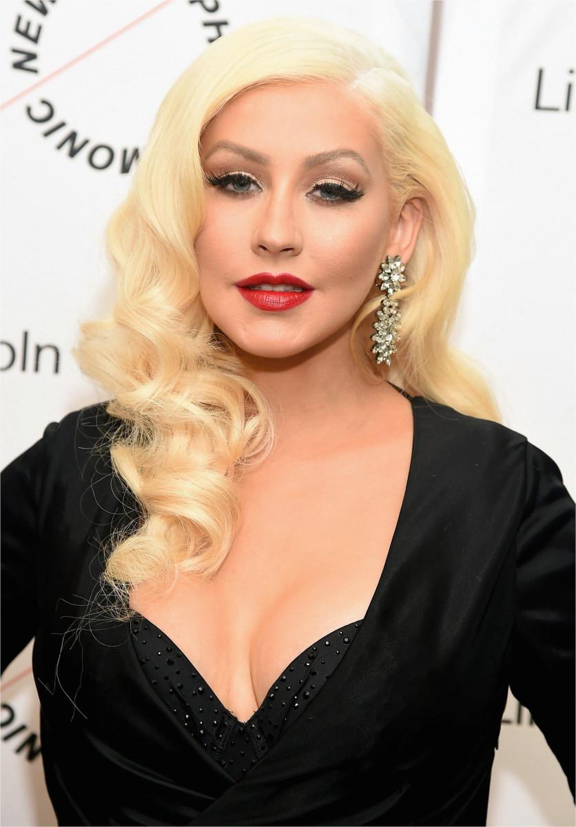 Christina Aguilera in 2015