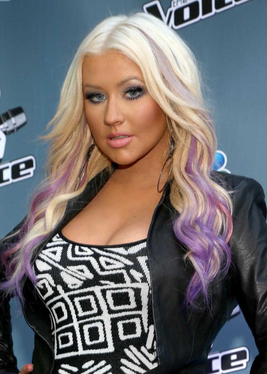 Christina Aguilera in 2012