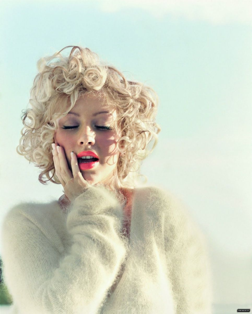 Christina Aguilera for Jane Magazine, 2004, photo David Slijper