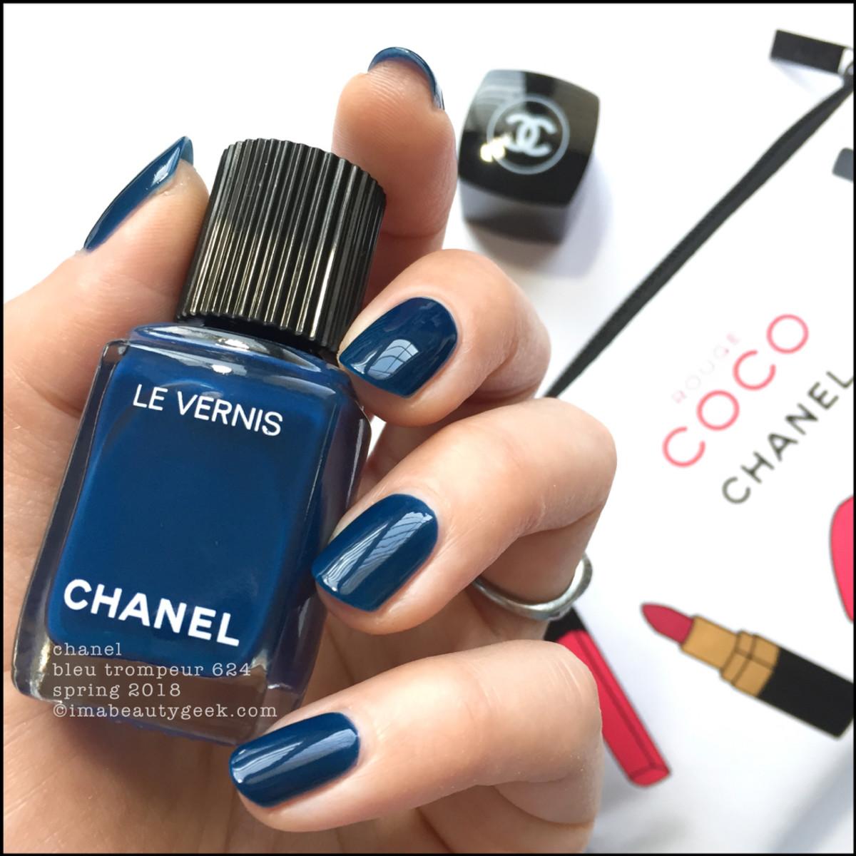 Chanel Bleu Trompeur Le Vernis Spring 2018