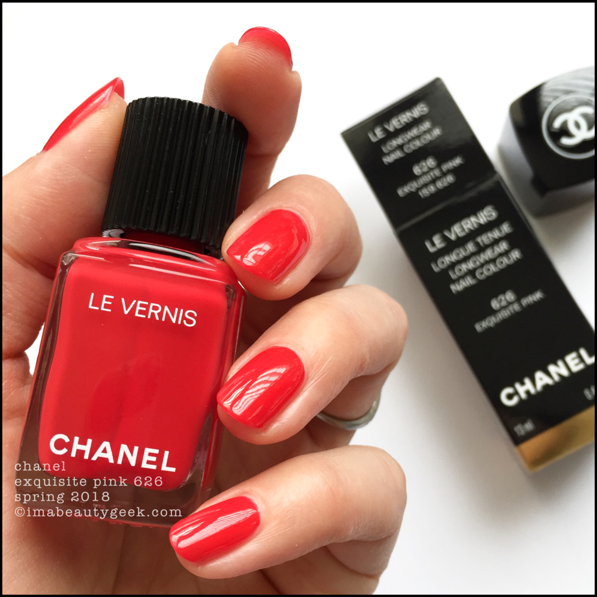 CHANEL LE VERNIS SPRING 2018 SWATCHES + LIMITED EDITIONS - Beautygeeks