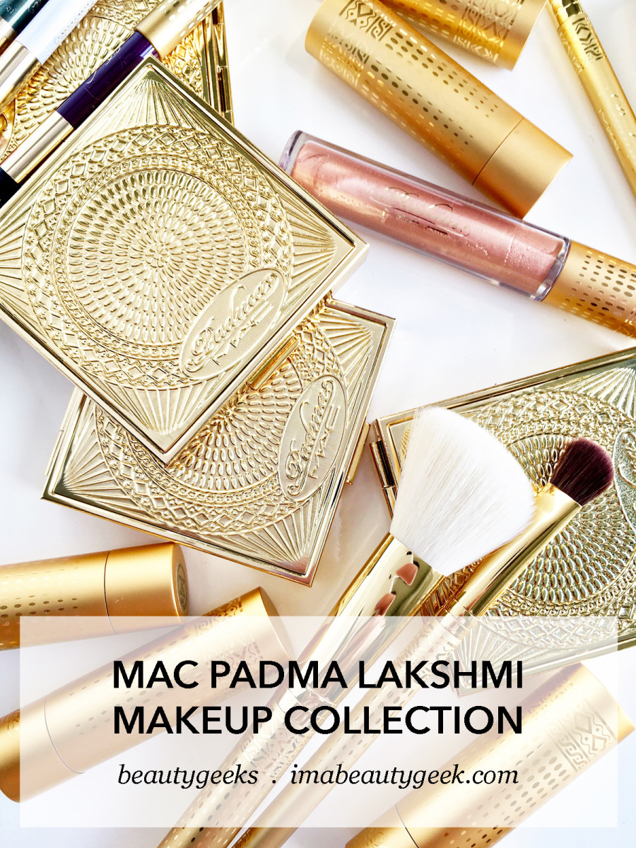 MAC Padma Lakshmi limited edition makeup and makeup brushes collection