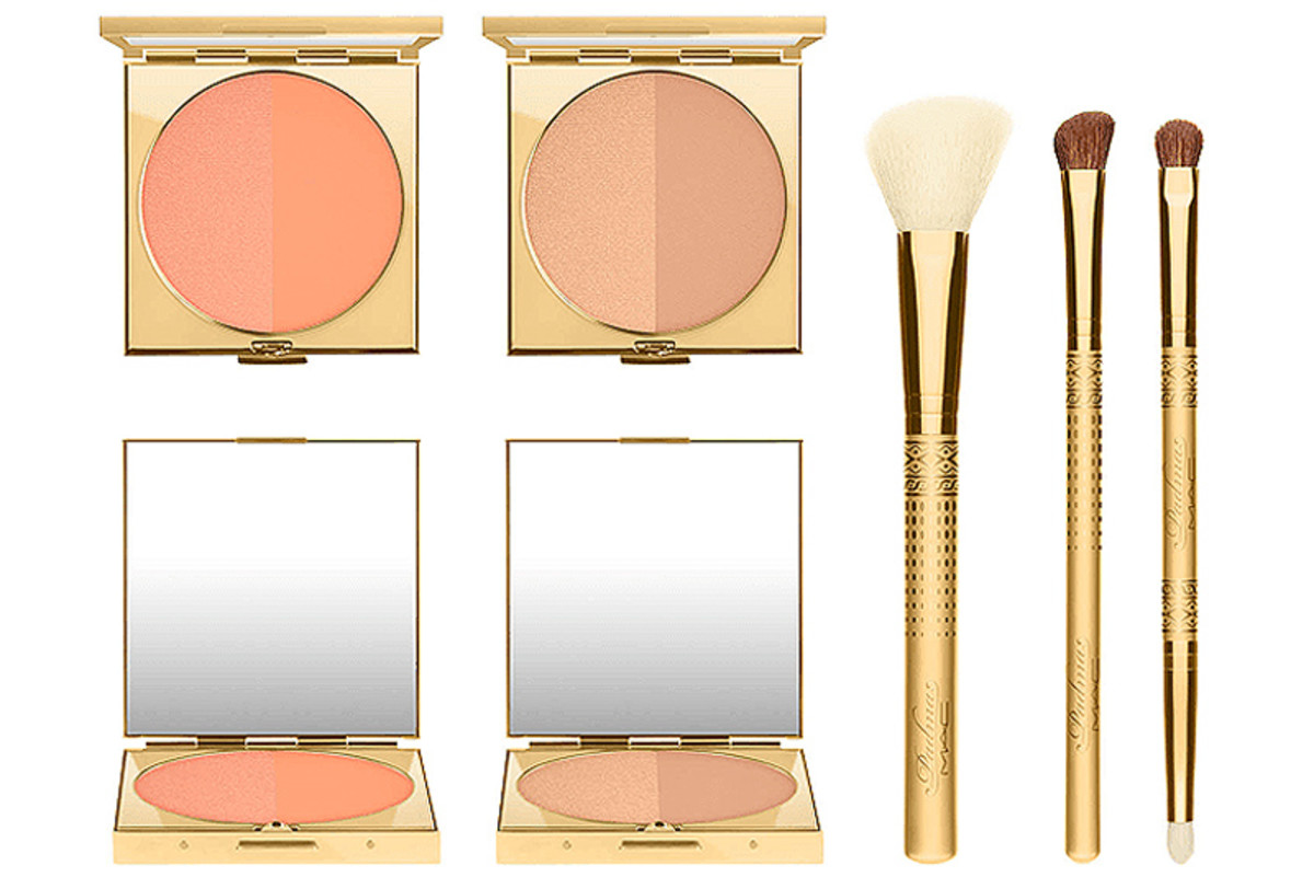 MAC Padma Lakshmi blush duos and brushes
