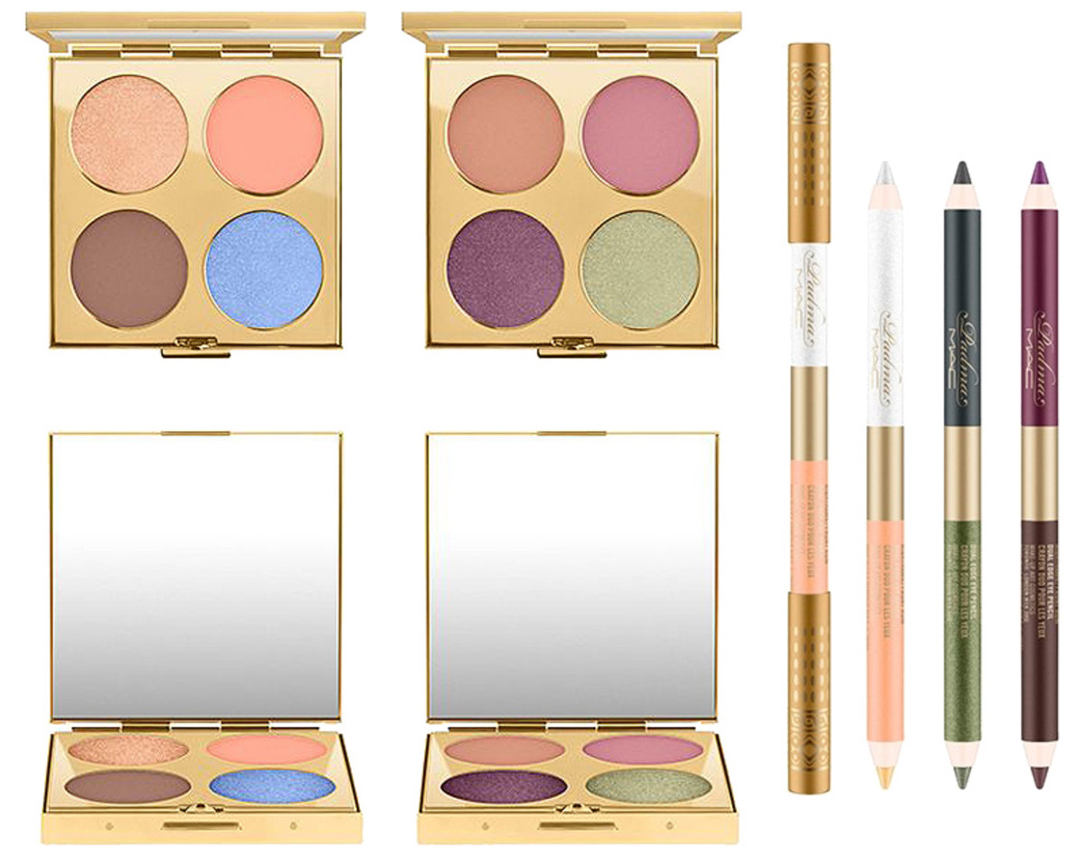 MAC Padma Lakshmi eyeshadow quads and pencils