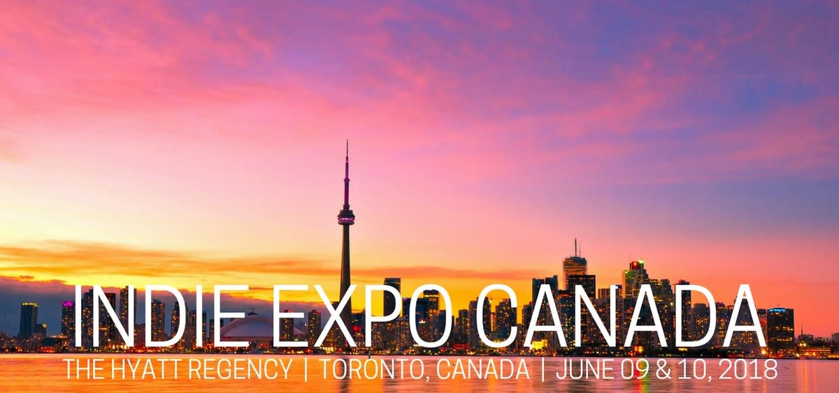 Indie Expo Canada 2018 Banner