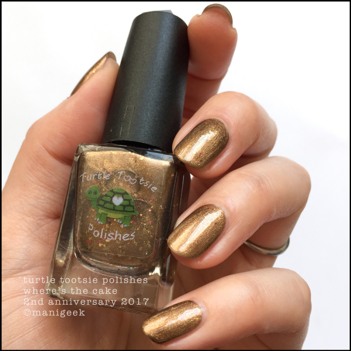 Turtle Tootsie Polish Where's the Cake NOTD 2 _ Indie Expo Canada 2018