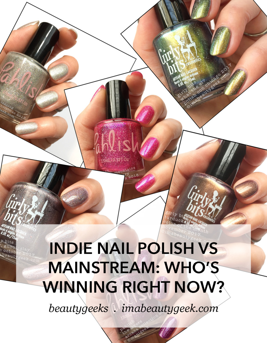 indie polish vs mainstream-who's winning right now