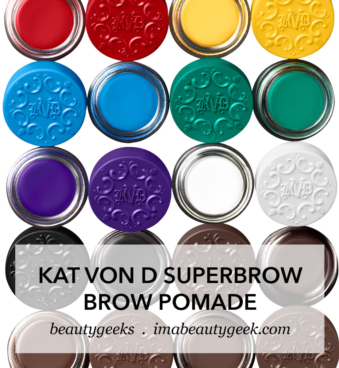 Kat Von D Superbrow Brow Pomade-BEAUTYGEEKS