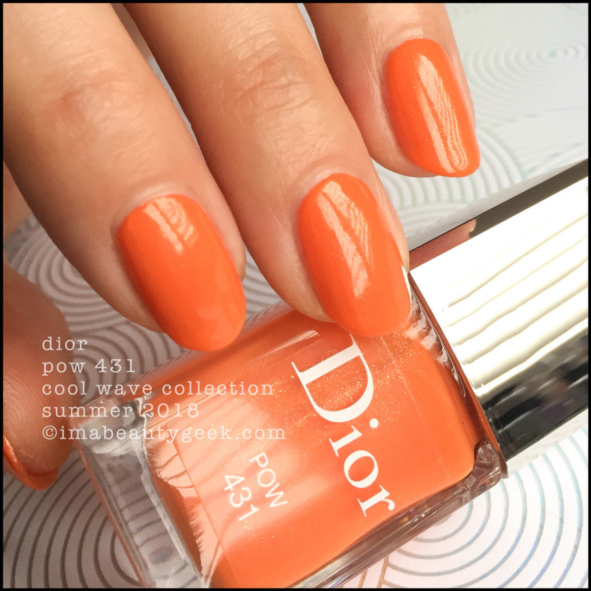 Dior Pow 431 Vernis - Dior Cool Wave Summer 2018