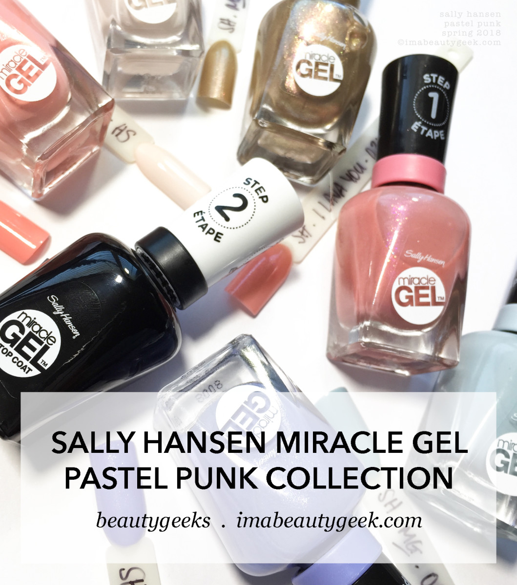 Sally Hansen Pastel Punk Collection 2018