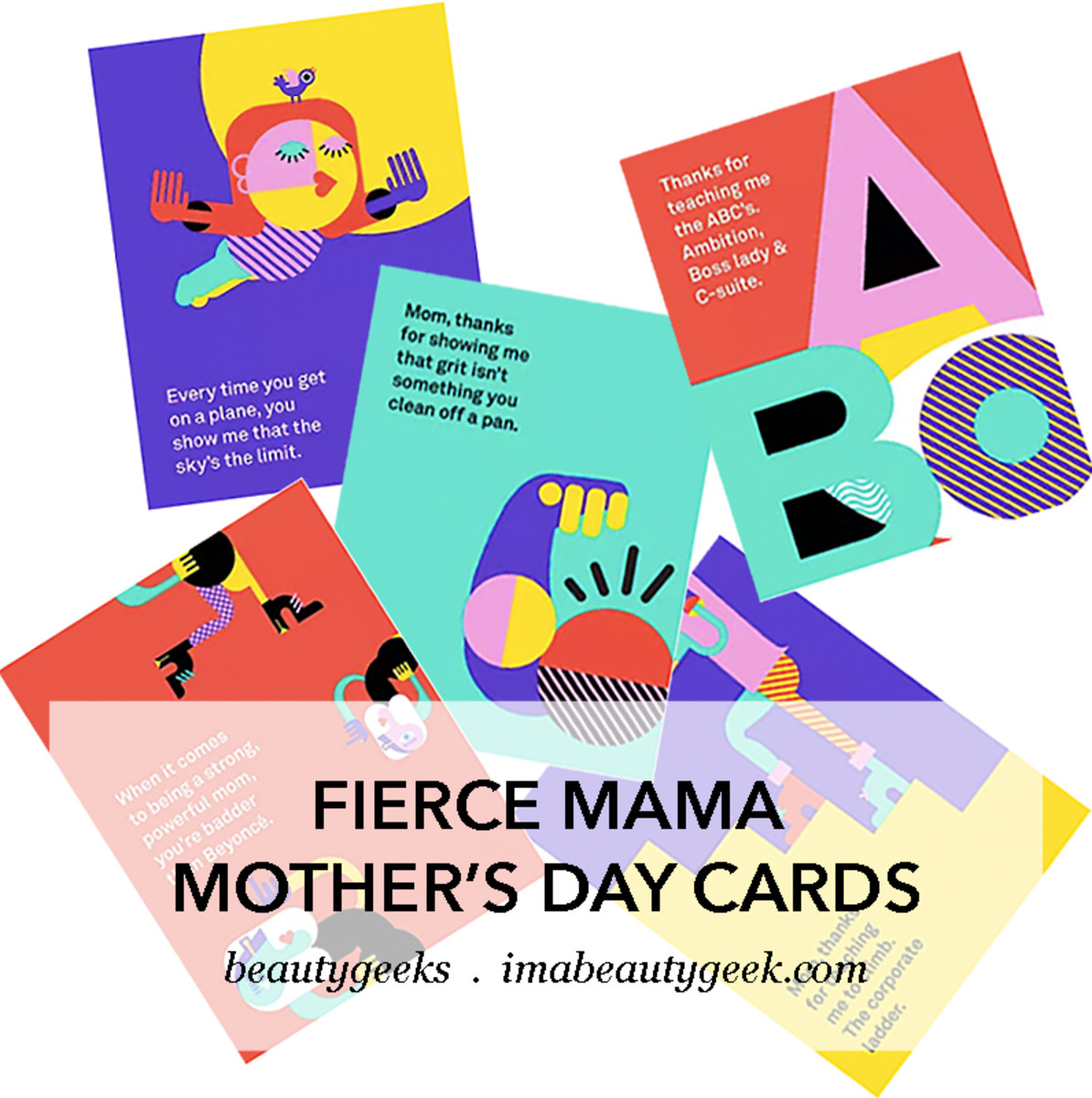 Fierce Mama Mother's Day cards_download and print