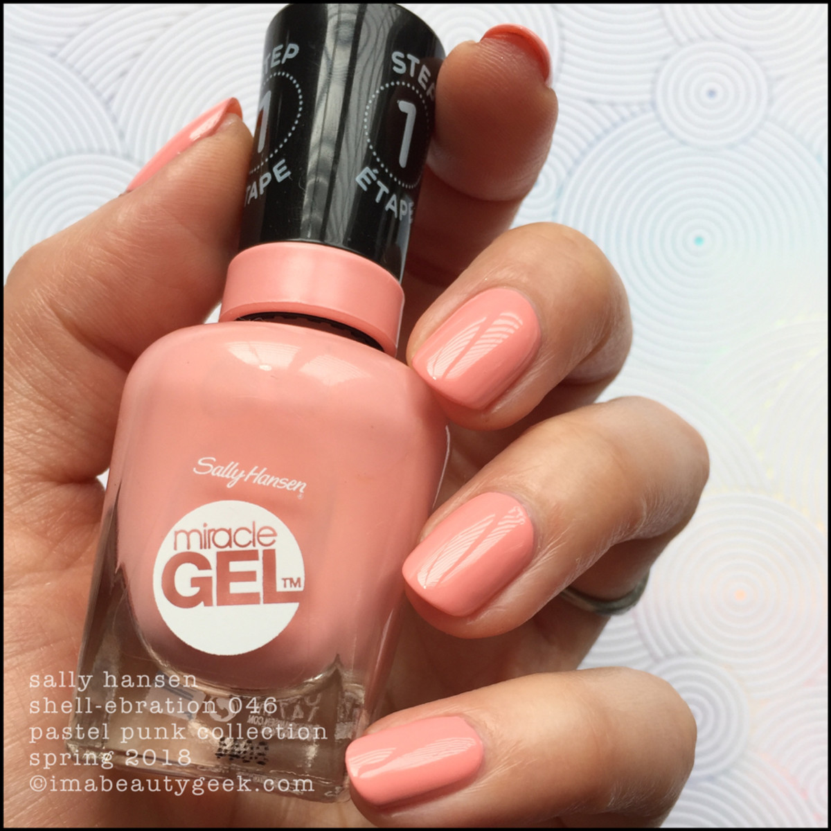 Sally Hansen Shell-ebration 046 Miracle Gel 2018