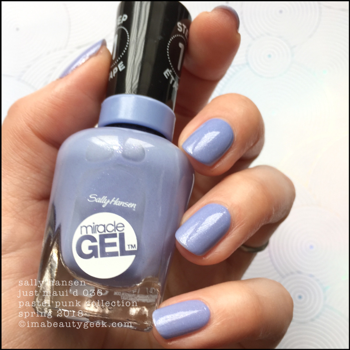 Sally Hansen Just Maui'd 036 Miracle Gel 2018