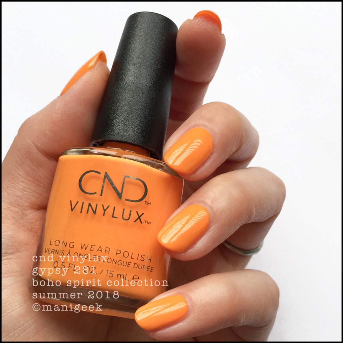 CND Vinylux Gypsy 281 _ CND Boho Spirit Collection Summer 2018