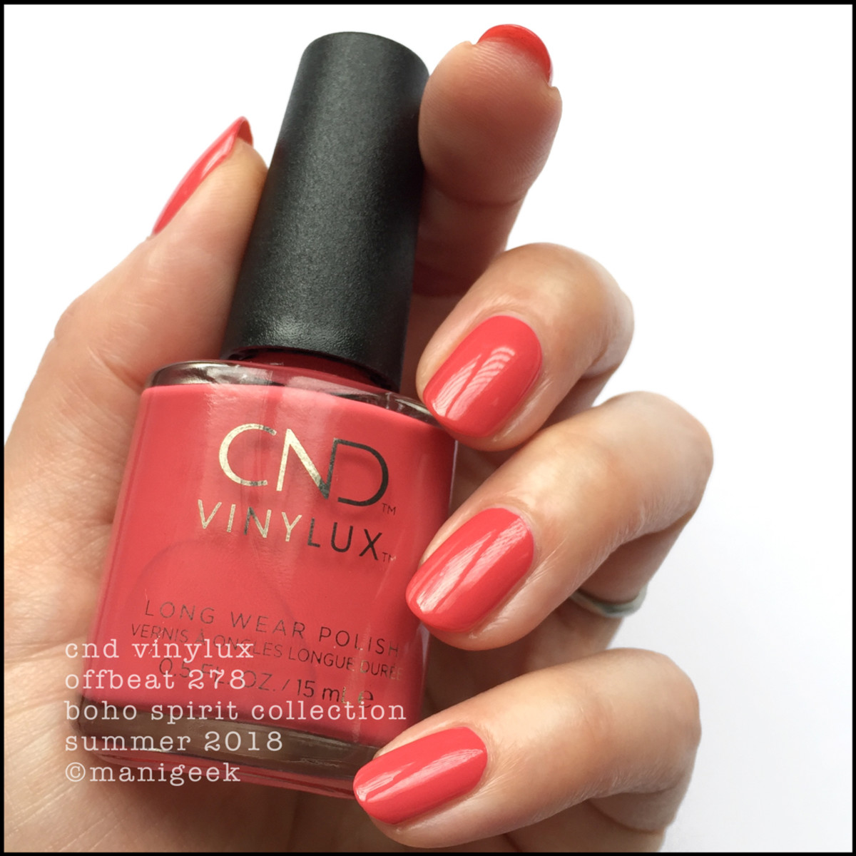 CND Vinylux Offbeat 278 _ CND Boho Spirit Collection Summer 2018
