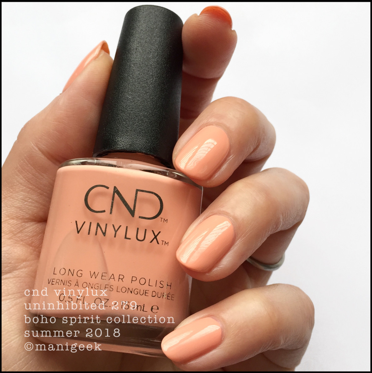 CND Vinylux Uninhibited 279 _ CND Boho Spirit Collection Summer 2018