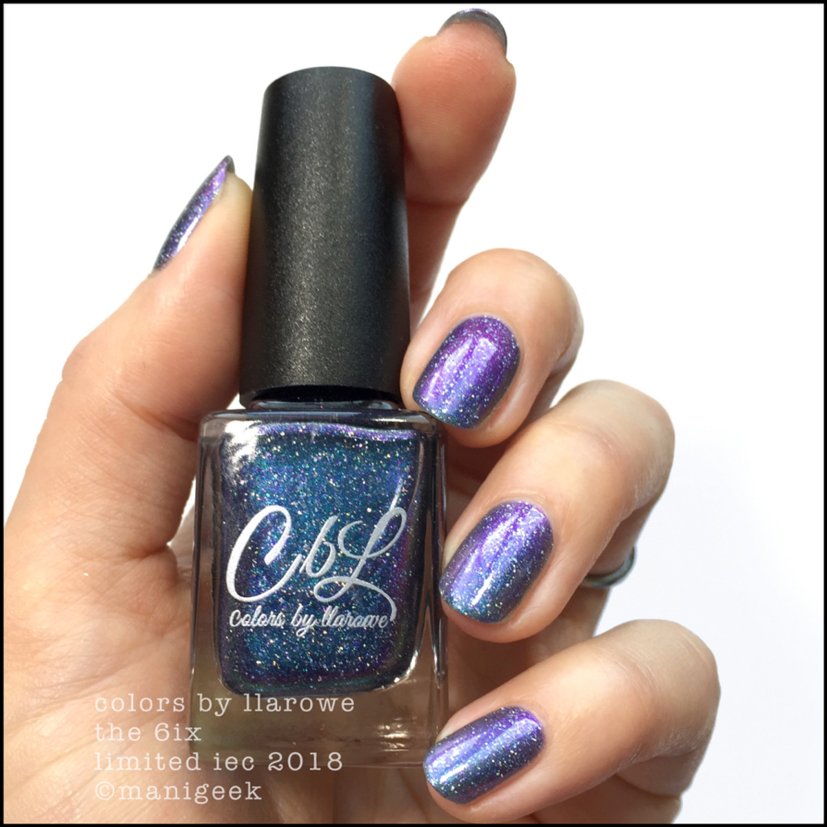Colors by Llarowe The 6ix - Limited Edition IEC 2018 Swatches