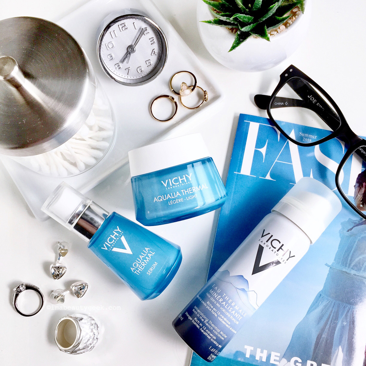 Vichy Aqualia Thermal skincare review 2018 reformulated range
