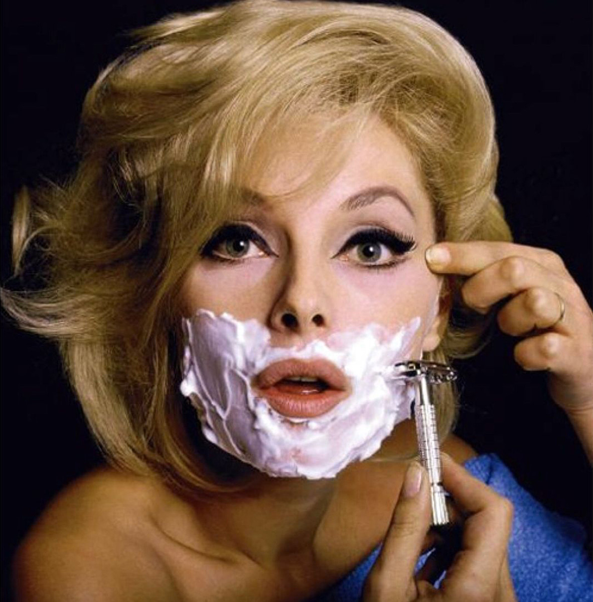 Italian actress Virna Lisi on the cover of Esquire, 1965
