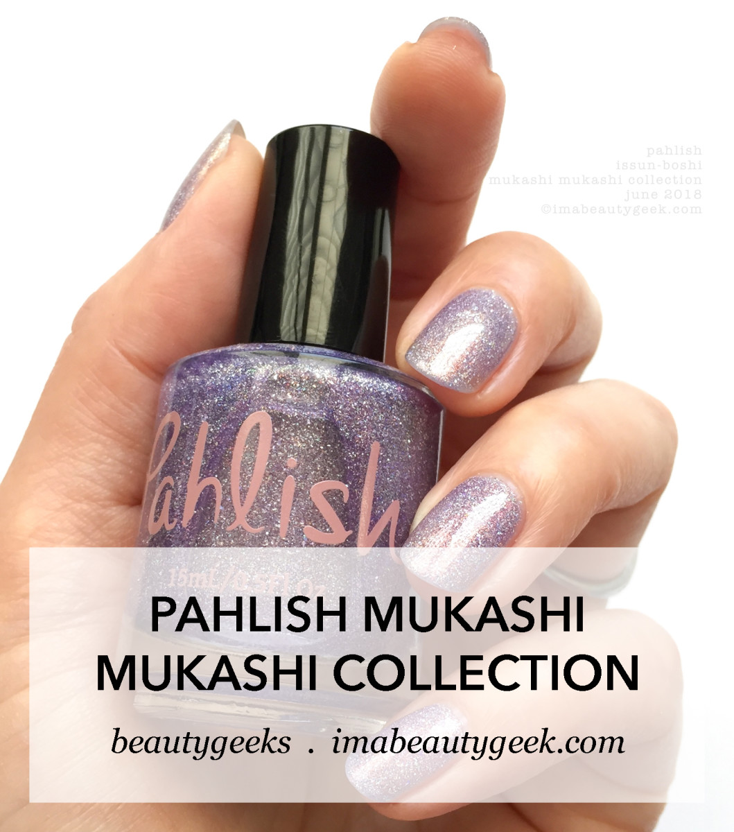 Pahlish Mukashi Mukashi Collection Swatches June 2018 Once Upon a Time