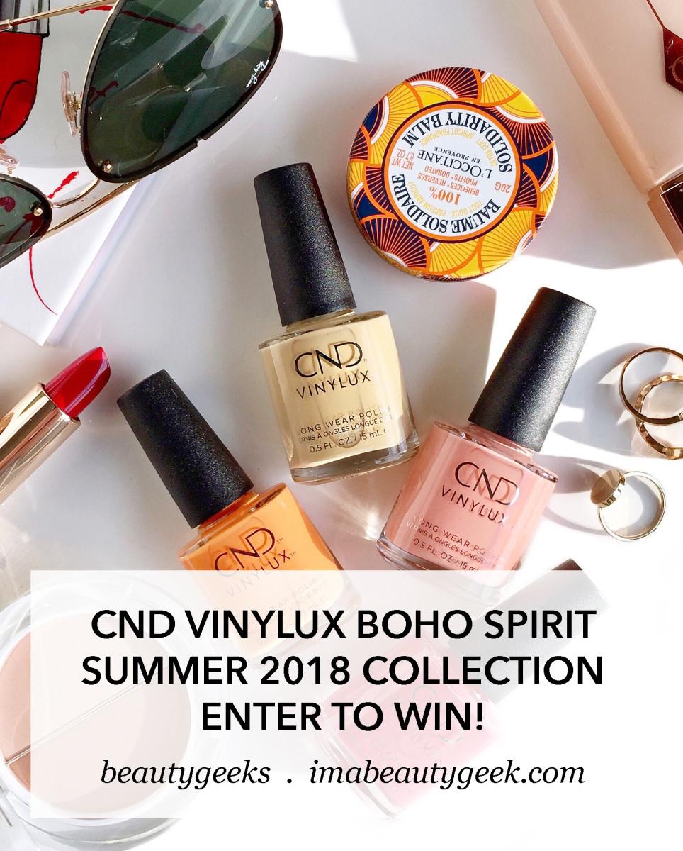 CND Vinylux Boho Spirit collection summer 2018