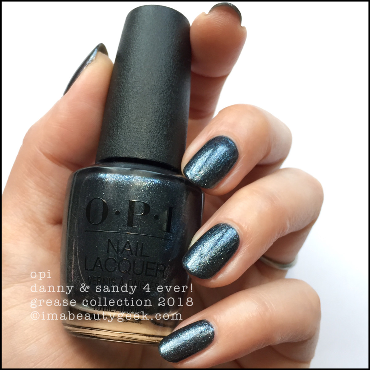 OPI Danny & Sandy 4 Ever! - OPI Grease 2018
