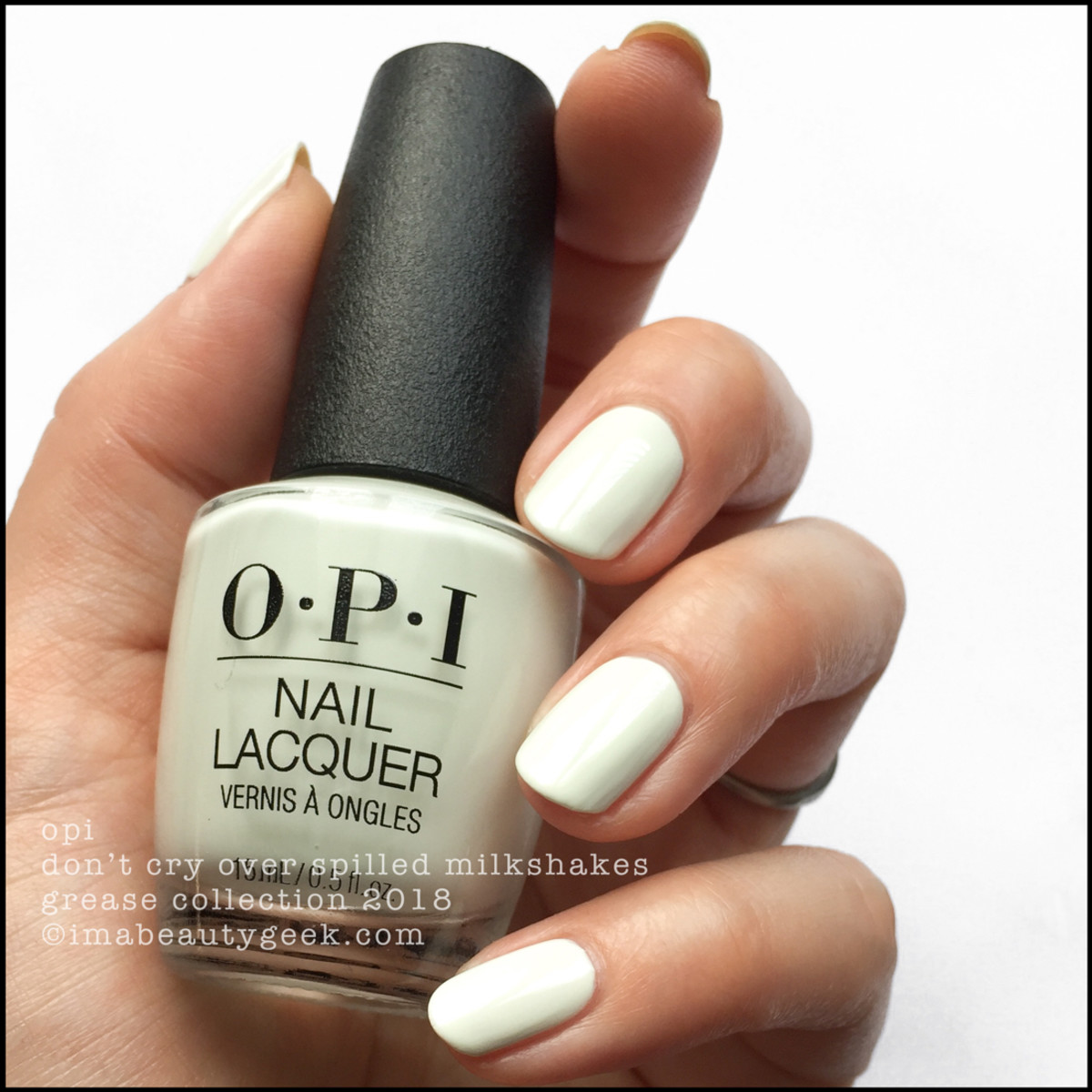 OPI Don't Cry Over Spilled Milkshakes - OPI Grease 2018