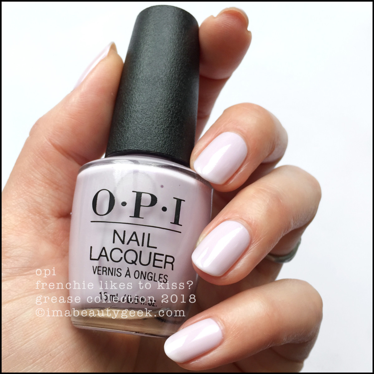 OPI Frenchie Likes To Kiss? - OPI Grease 2018