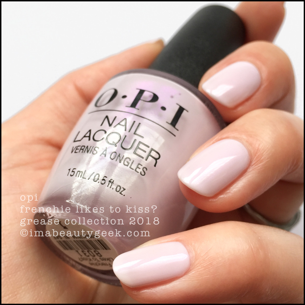 OPI Frenchie Likes To Kiss v1.2 - OPI Grease 2018