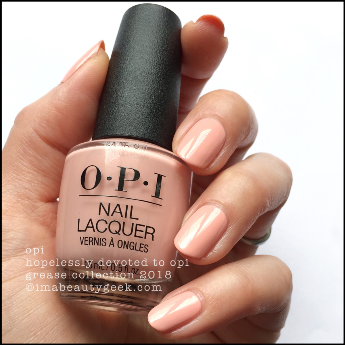 OPI Hopelessly Devoted to OPI - OPI Grease 2018