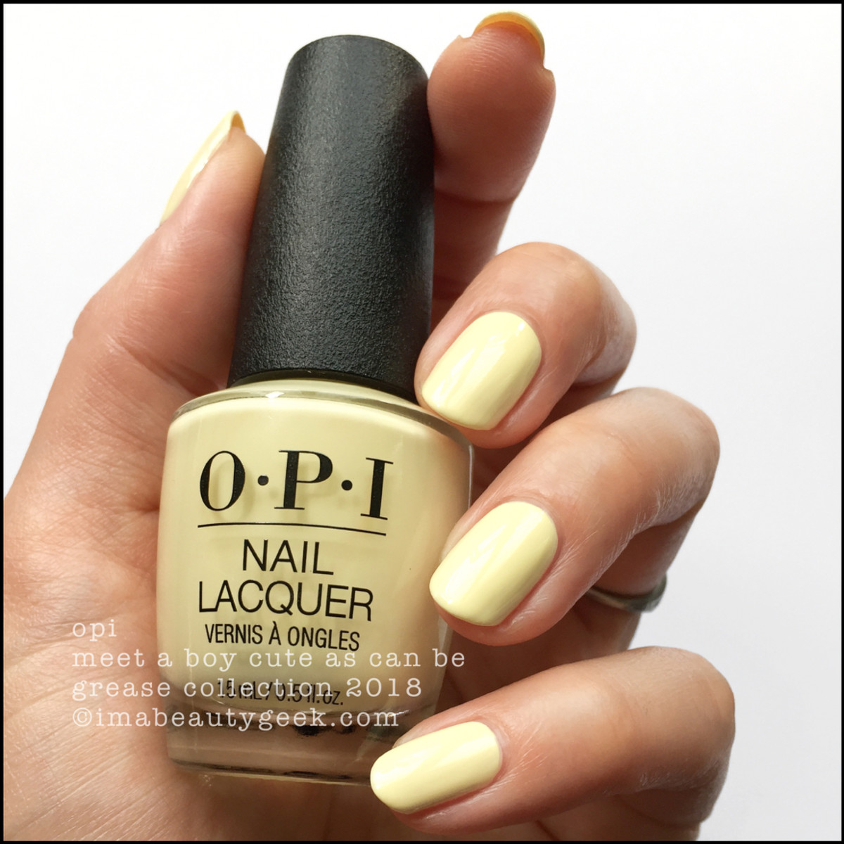 OPI Meet A Boy Cute As Can Be - OPI Grease 2018