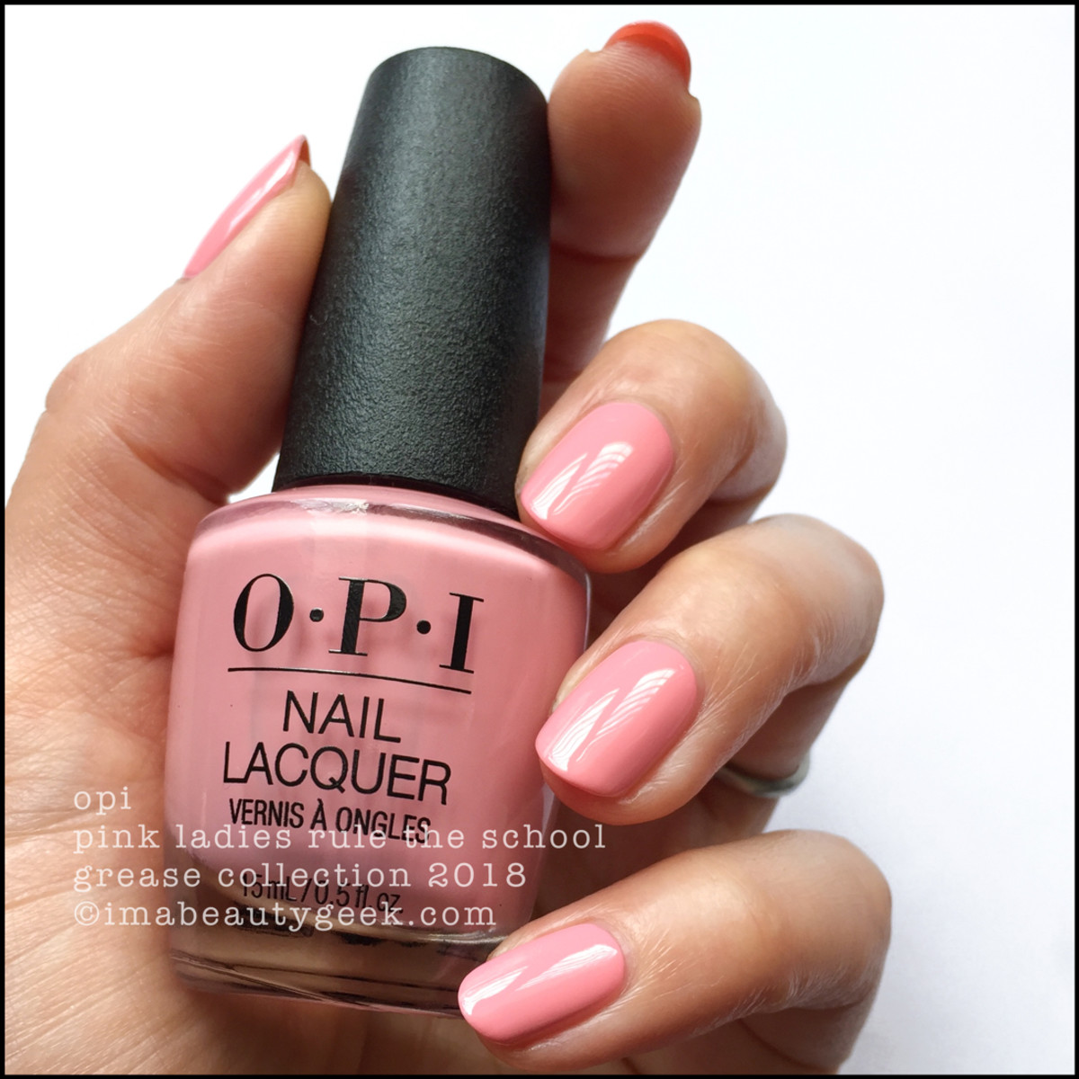 OPI Pink Ladies Rule The School - OPI Grease 2018