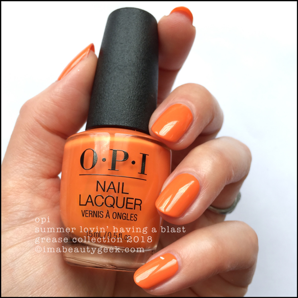 OPI Summer Lovin' Having a Blast - OPI Grease 2018